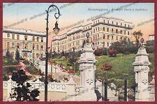 PARMA SALSOMAGGIORE TERME 134 HOTEL ALBERGO Cartolina viaggiata 1932
