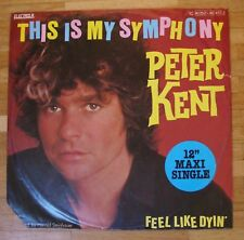 "PETER KENT This Is My Symphony 12""-Maxi/GER"