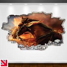 HORSE ANIMAL Wall Sticker Decal Vinyl Art A4