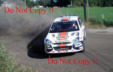 Colin McRae. FORD FOCUS RS WRC 01 RALLY FINLANDIA fotografia 2001