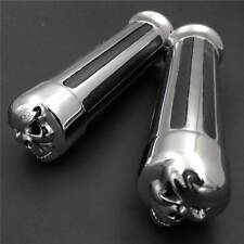 "Motorcycle Bars Skull 1"" Handlebar Grips For Honda Goldwing GL1200 GL1500 GL1800"