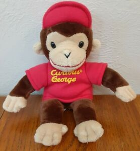 Curious George Gund Monkey 10-inch With Red Hat Plush Stuffed Animal Toy