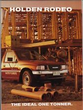 1995 HOLDEN TF RODEO ONE TONNER UTE Australian 26 pp Brochure Like ISUZU FASTER