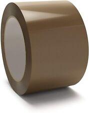 """6 Rolls Brown/Tan Packing Packaging Carton Sealing Tape 3"""" x 110 Yard 330 ft"""
