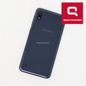 Samsung Galaxy A10 (A105FN/DS) - Genuine Back Battery Cover - Grey - Grade C