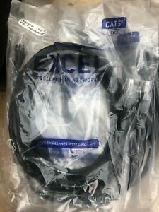 Excel 2m Cat5e Black Patch Cable
