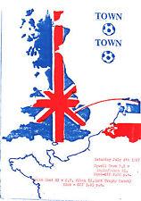 1987/88 upwell Città V ANGLO Olandese XI, amichevole-PERFETTE CONDIZIONI
