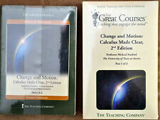 Change and Motion: Calculus Made Clear, 2nd Edition Part 1 & 2 DVD+Guide Book