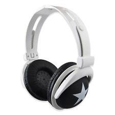 3.5mm Over-Ear Adjustable Star Funky DJ Headphones for Kids Childrens Lovely VNC