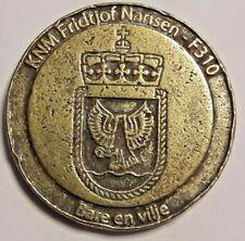 Medal Medaille KNM Fridtjof Nansen F310 Bare en vilje