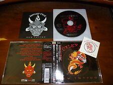 Motley Crue / New Tattoo JAPAN+2 w/Sticker *B