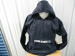 VINTAGE CHAMPIONS PENN STATE NITTANY LIONS SEWN MEDIUM PULL-OVER HOODED PARKA