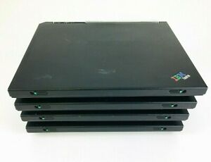 Lot of 4 IBM ThinkPad R31 2GB RAM Intel Mobile Celeron 1.6GHz For Parts Only