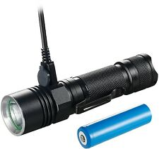 LED Flashlight, Akale Led Torch Pocket Torch Rechargeable IP65 Water-Resistant,