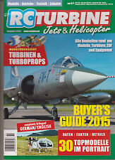 RC TURBINE MAGAZINE JETS & HELICOPTERS 2015,(Bi-lingual Issue: German & English)