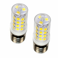 2-Pack HQRP 43 LEDs 400-450 Lumen E17 LED Bulb for LG 6912W1Z004B Replacement