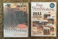 Fine Woodworking Magazine Archive - 1975-2011 - DVD format