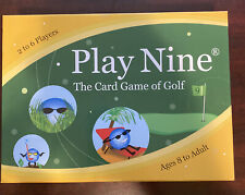 Play Nine - The Card Game of Golf! NEW Ages 8- Adult 2006 Bonfit America