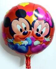 Cartoon Foil Balloon Mickey Mouse Birthday Party Decoration Round 45CM