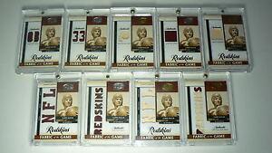 2008 Leaf Certified SAMMY BAUGH Game Used Redskins Jersey Patch 1/1 MASTER SET!!