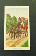 c1940 Hoadleys Trade Card Birth of a Nation #25 Cobb & Co Coach Australiana VGC