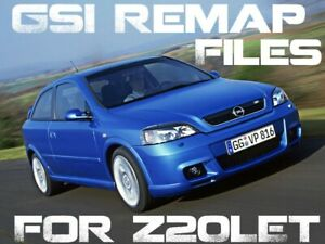 Vauxhall Astra / Zafira GSi Turbo Remap Files - Stage 1-4 -Z20LET Engine