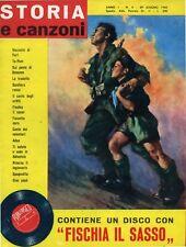 * STORIA e canzoni - ANNO 1 - N°5 del 29/GIU/1960 *