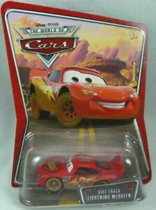 New Disney CARS Dirt Track McQueen Diecast WOC #03 Vehicle 1:55