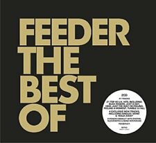 FEEDER THE BEST OF 2 CD ALBUM  (Greatest Hits / Very Best Of)