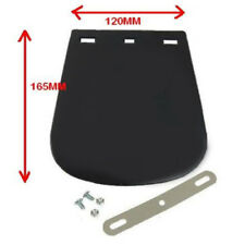 New Motorcycle Mudflap Suit Rear or Front Plan Black Rubber Classic Motorbike