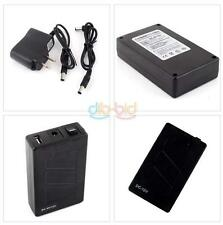 Practical 12V DC USB 5V Rechargeable Li-ion Battery 4 CCTV Camera Charger