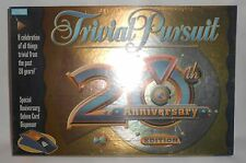 TRIVIAL PURSUIT 20th Anniversary Edition Board Game NEW Factory Sealed