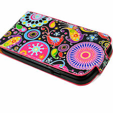 Stylish Magnetic Leather Cover Case Pouch For Samsung Galaxy S3 III i9300