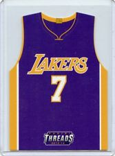 "2015-16 THREADS #8 LARRY NANCE JR. ""JERSEY INSERT"" RC, LAKERS, CAVALIERS, 052618"