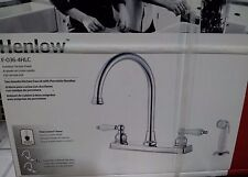 Price Pfister Henlow Polished Chrome Two Handle Kitchen Faucet  # F-036-4HLC