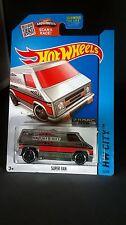 Hot Wheels Super Van Zamac Diecast 1:64 Scale HW City 2015 Series Rare Must See!