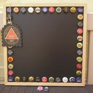 Handmade Beer Bottle Top/Caps Chalk Board/Note Board, Gift Tag & 2 Magnets❤️Bar❤
