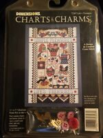 Vintage 1996 Dimensions Charts & Charms Life's Treasures 72307~~new