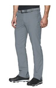 NWT$80 Under Armour Men's Match Play Golf Pants Gray 1248089-035