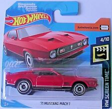 Hot Wheels '71 Mustang Mach 1 - 2019 - Diamonds Are Forever -  007 -  2/250