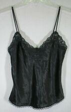 Christian Dior Vintage Black Cami Lace Top