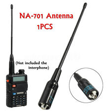NA-701 Dual-Band Flexible Handheld Antenna 144/430MHz For Baofeng UV-5R E Plus