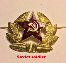 The cockade of the Soviet Army to the frontage-cap, cap, airborne cap, hat with