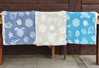 Linen Flax Bath Towel Lightweight Double fabric Sauna Spa Body Warp Quick dry 10
