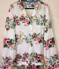 Laura Ashley Pj Night Shirt Top L Pajamas Sleepwear