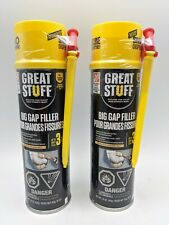 (2 CANS) - Dow Great Stuff, BIG GAP FILLER Spray Foam Can 16 OZ. Fill up to 3""
