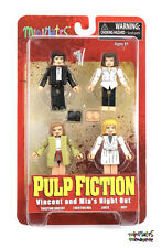 Pulp Fiction Minimates Vincent and Mia's Night Out Box Set