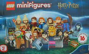 LEGO® 71028 Harry Potter™, Serie 2 Minifiguren AUSSUCHEN New