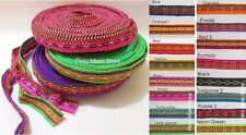 5 rolls INCA RIBBONS 5 x 10 yards (5 x 9.5meters), 15 mm wide