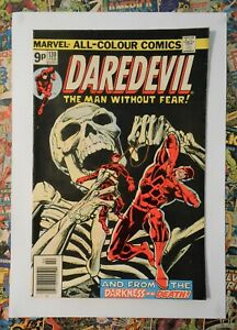 DAREDEVIL #130 - FEB 1976 - 1st BROTHER ZED APPEARANCE - FN- (5.5) PENCE COPY!